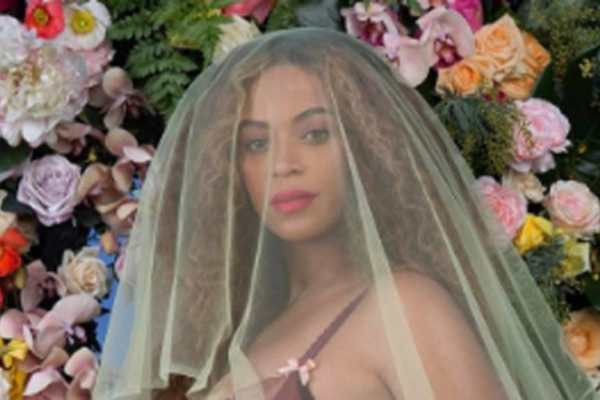 Beyoncé foto con i gemelli