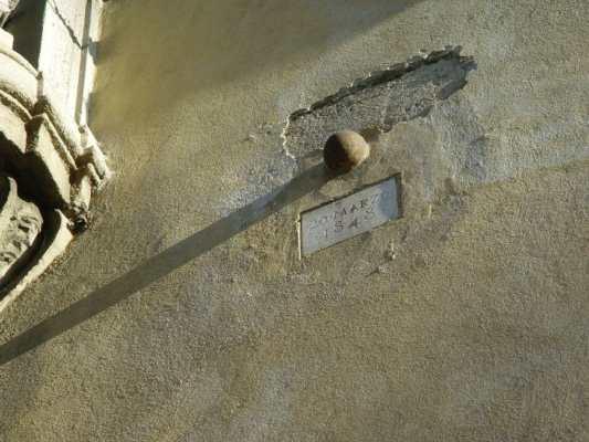 palla cannone muro milano - luoghi nascosti da vedere a Milano
