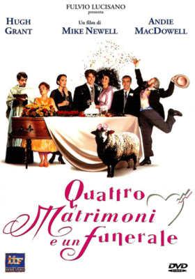 quattro matrimoni e un funerale - film sul matrimonio e nozze