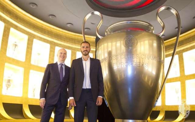 Bonucci e Romagnoli difesa Milan
