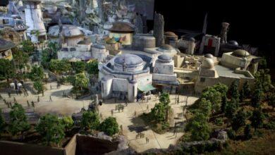 Star Wars a Disneyland