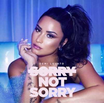 cover di Sorry Not Sorry con Demi Lovato