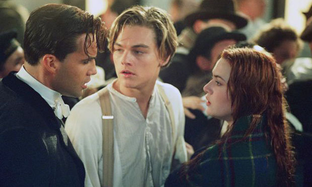 Di Caprio Kate Winslet Billy Zama in Titanic