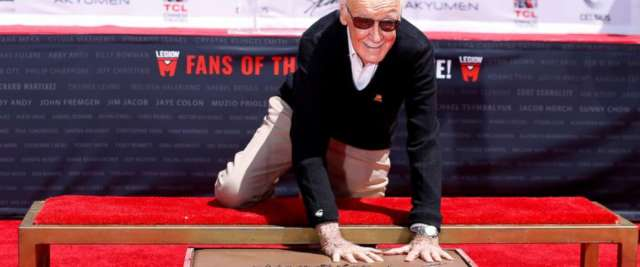 Stan Lee al Chinese Theatre
