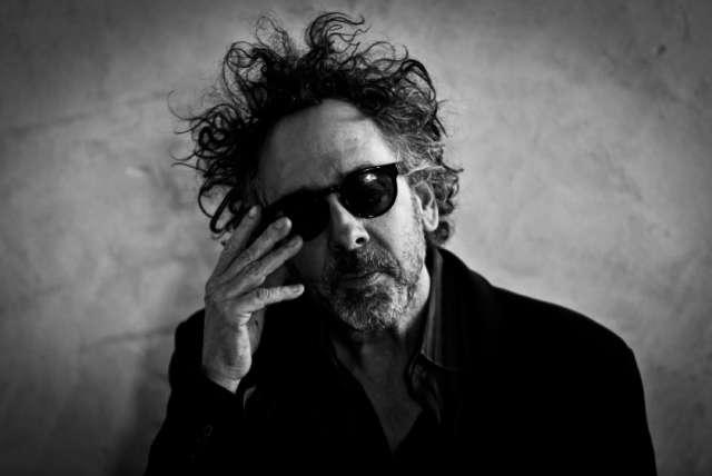 Una foto del regista Tim Burton