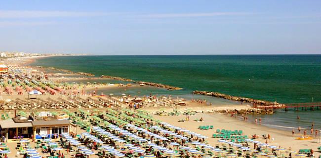 Riviera romagnola siccità