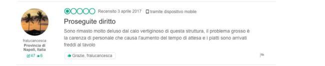 Hotel Ristorante Il Saraceno Torre delle Stelle - Recensione