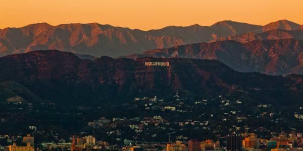 Immagine della scritta di Hollywood