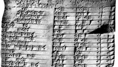 tavola babilonese scoperta dal vero Indiana Jones