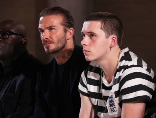 Booklyn Beckham e David Beckham