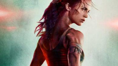 Tomb Rider Alicia Vikander poster