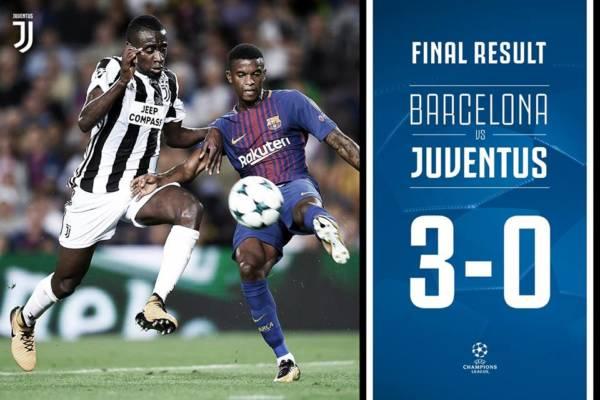 Matuidi durante Barcellona-Juventus del 12 settembre 2017. Credits Juventus.