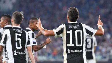 Dybala esulta dopo un goal in Juventus-Torino del 23 settembre. - Derby della mole 194