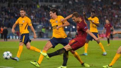 Dzeko in azione con la Roma. Credits Roma. Settembre 2017 Roma Udinese prob formazioni