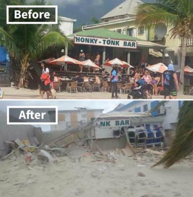 Foto uragano Irma