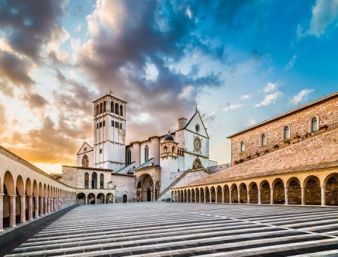 città italiane da visitare in autunno - Assisi