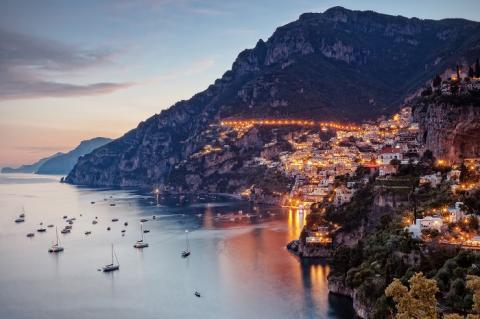 città italiane da visitare in autunno - Positano