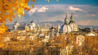 città italiane da visitare in autunno - Roma