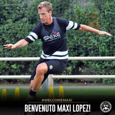 Maxi Lopez all'Udinese