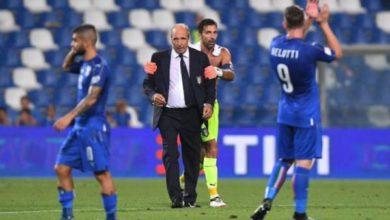 Il c.t. Ventura carica i suoi in vista della gara di venerdì contro la Macedonia.