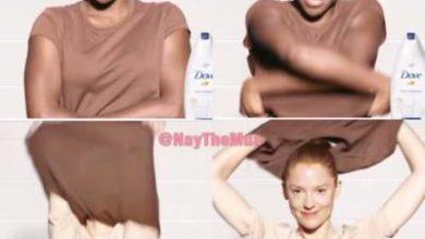 pubblicita razzista di dove foto