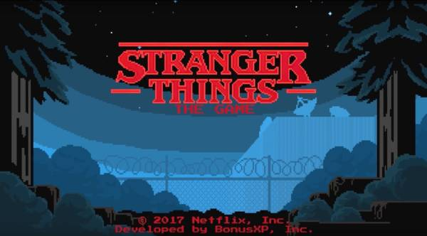 Stranger Things The Game videogioco