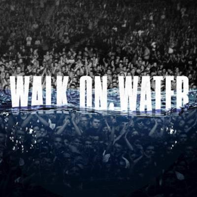 La copertina del nuovo singolo di Eminem Walk on Water