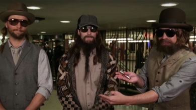 Maroon 5 e Jimmy Fallon in metro