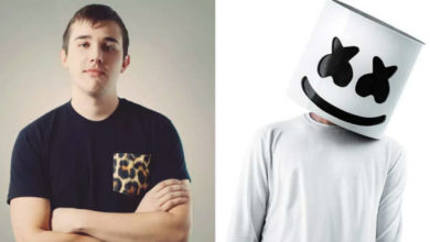 I due volti di Marshmello