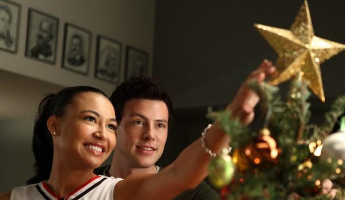 episodio natalizio di Glee