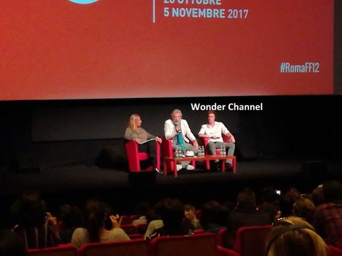 Ian McKellen Festa del Ciname Roma 2017