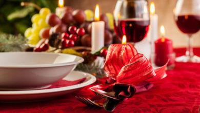 La tavola del cenone di Natale