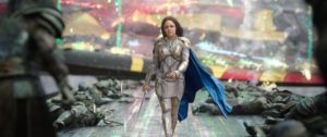Thor Ragnarok Recensione - Tessa Thompson in Thor Ragnarok