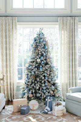 Idee decorazioni albero 2017