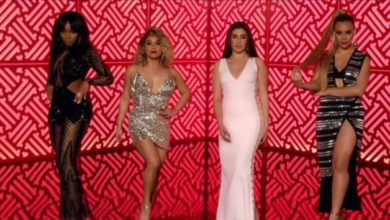 Le Fifth Harmony nel video musicale di Por Favor, il singolo di Pitbull.
