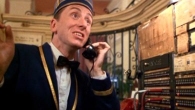 Tim Roth nel film Four Rooms