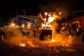 immagine di un diavolo in fiamme