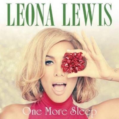 copertina del singolo di Leona Lewis 'One More Sleep' 2013
