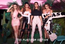 Le Little Mix nella cover di Glory Days: The Platinum Edition