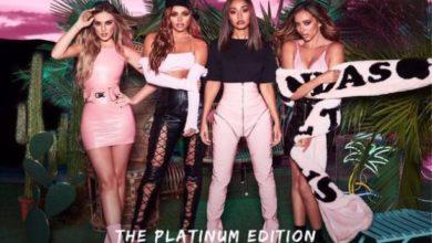 Le Little Mix nella cover di Glory Days: The Platinum Edition