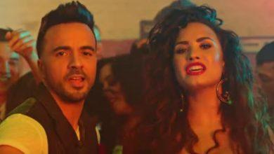 Luis Fonsi e Demi Lovato nel video di Échame la Culpa