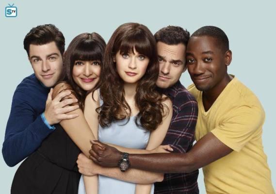 Il cast di New Girl