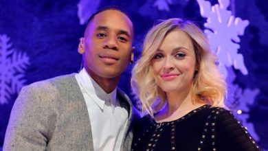 Reggie Yates Fearne Cotton che presentano Top of the Pops, Christmas Special