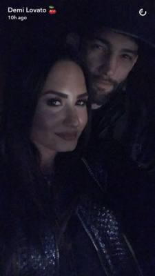 Demi Lovato e Vasconcelos