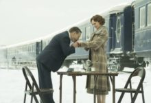 Kenneth Branagh e Daisy Ridley in Assassinio sull'Orient Express