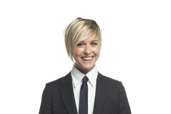 Nadia Toffa del programma televisivo Le Iene