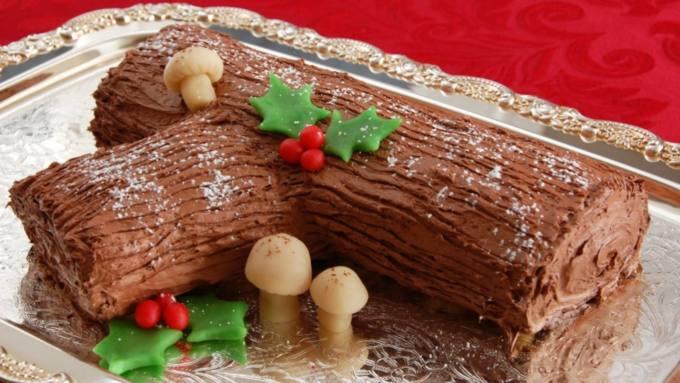 Tronchetto di Natale dolci natalizi Piemonte