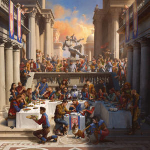 La cover dell'album di Logic dal titolo Everybody