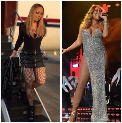 Mariah Carey magra