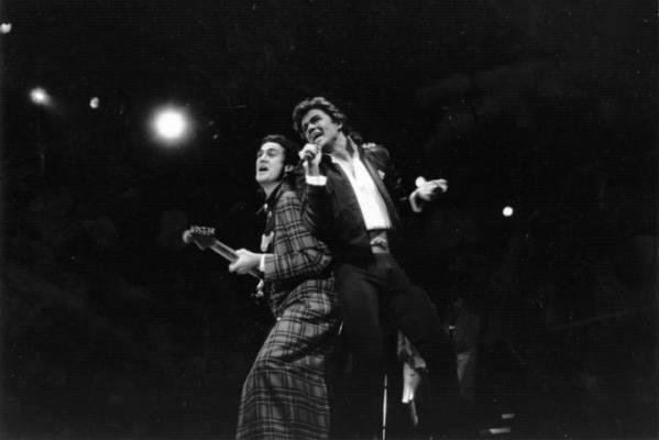 George Michael e Andrew Ridgely